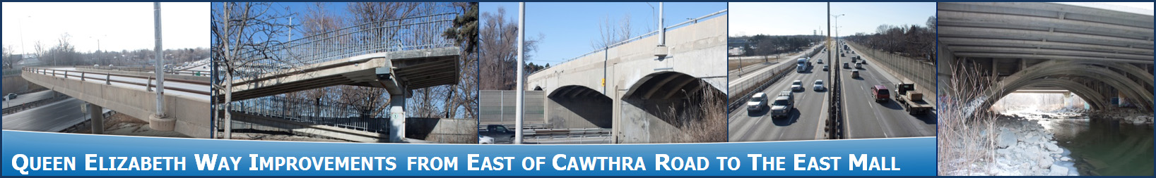 Queen Elizabeth Way (QEW) Improvements from East of Cawthra Road to The East Mall